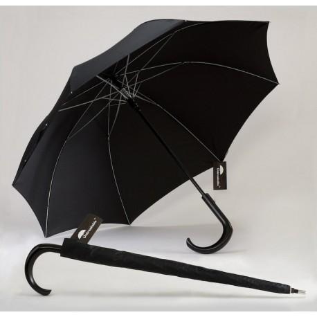 Prémiový dáždnik s ohnutým madlom